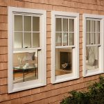 White Marvin Ultimate Double Hung Windows