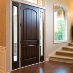 Dark Brown Therma Tru front Door