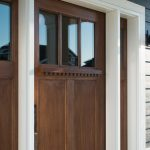Light Brown Therma Tru Door