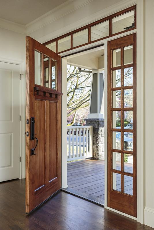 Light Brown Simpson Front Doors