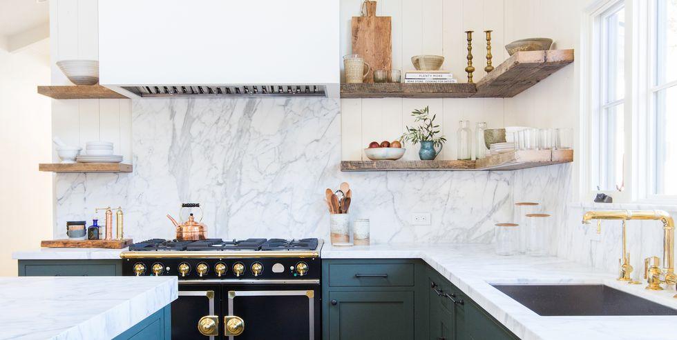 Creative Kitchen Design Ideas - Chic Meets Rustic