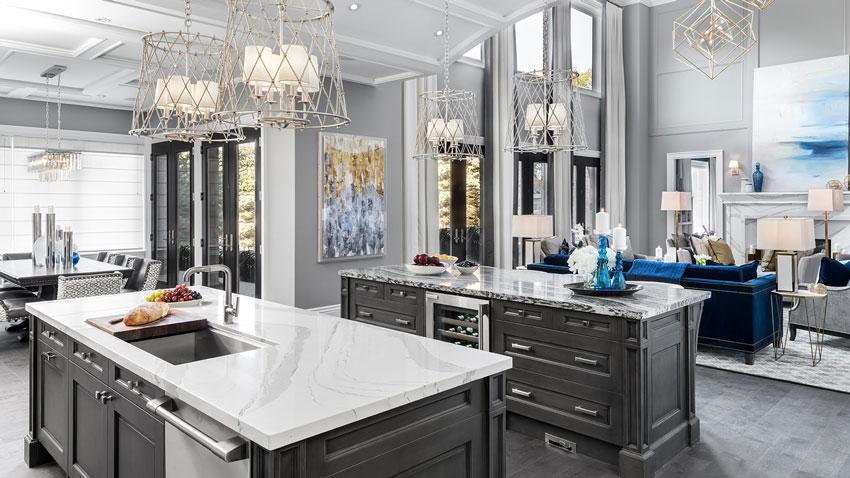 Creative-Kitchen-Design-Ideas---Two-Distinct-Counter-Islands