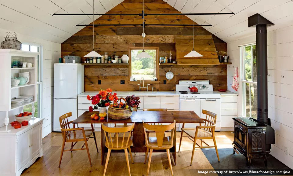 Featured Image for How to Create a Country Kitchen in 3 Easy Steps