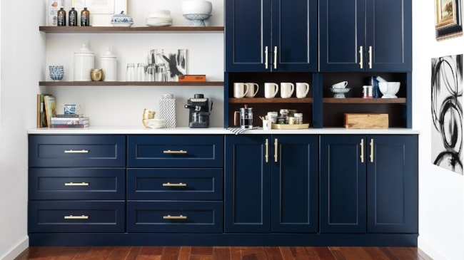 12 Kitchen Trends for 2019 - Color Your Cabinets