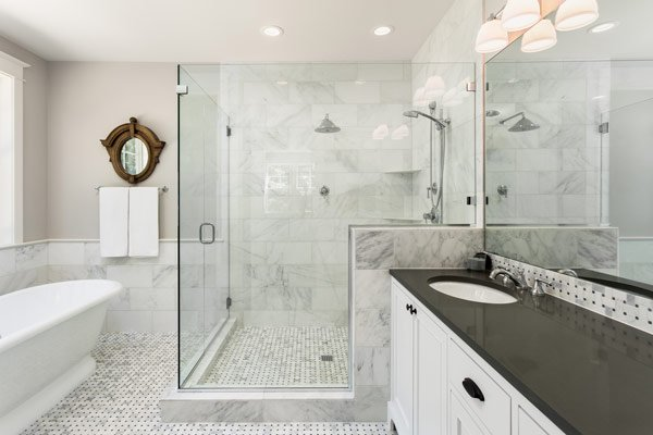 Featured Image for 7 DIY Creative Bathroom Tile Ideas