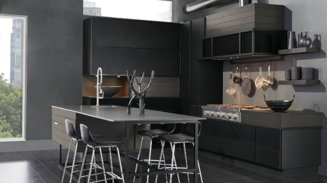 12 Kitchen Trends for 2019 - Black is Back