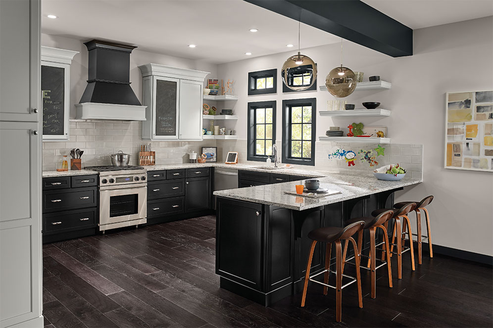 Kitchen Design Tips for 2021 - Black Cabinetry