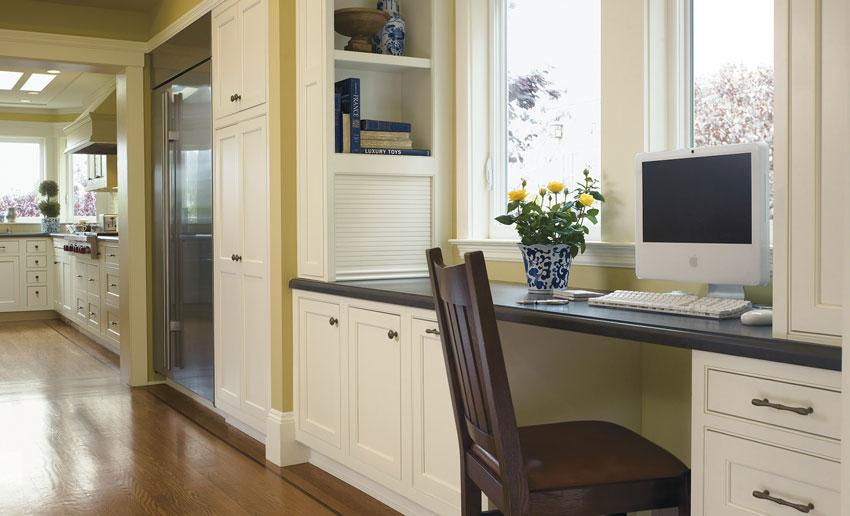 Kitchen Design Tips for 2021 - Office Nooks