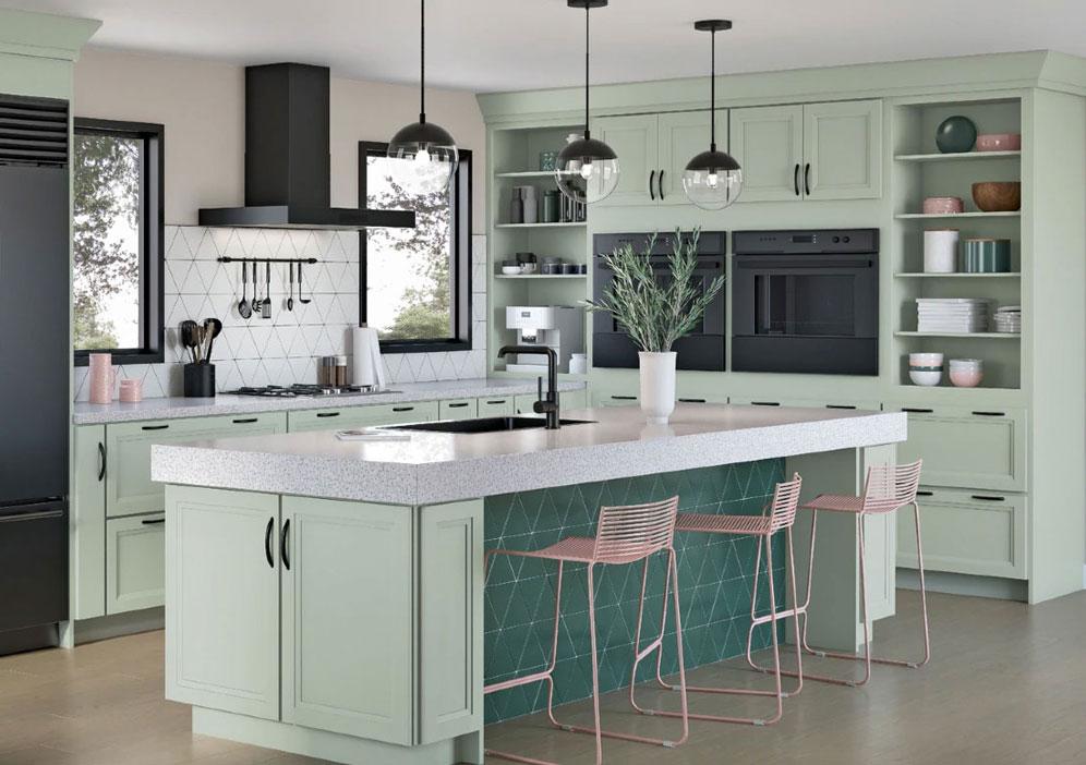 Kitchen Design Tips for 2021 - Open Shelves